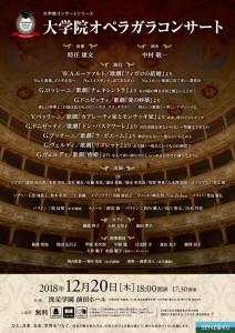 大学院オペラガラコンサート